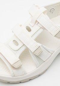 Keen - ASTORIA WEST OPEN TOE - Walking sandals - white - 3