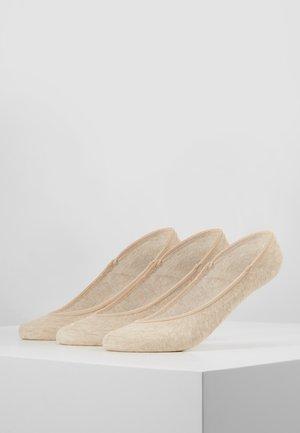 ULTRA LOW LINER 3 PACK - Trainer socks - nude