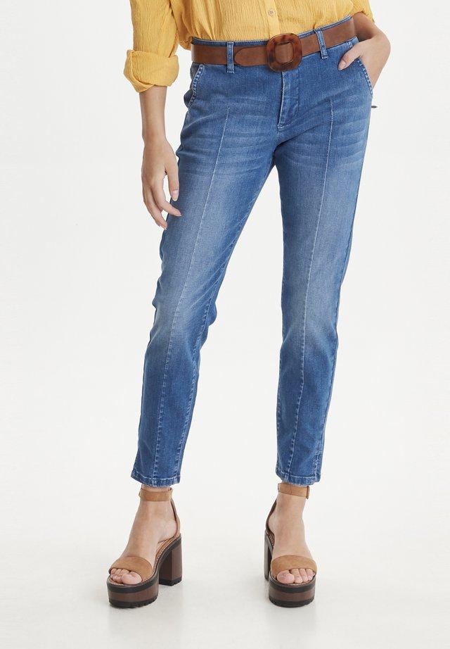 PZCLARA - Jeansy Slim Fit - medium blue denim