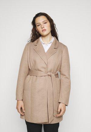 VMVERODONNA TRENCHCOAT CURVE - Classic coat - sepia tint