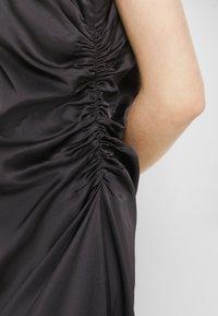 MM6 Maison Margiela - DRESS - Cocktail dress / Party dress - black - 7