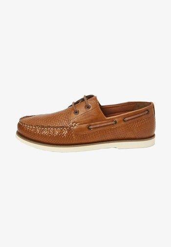 Scarpe da barca - brown
