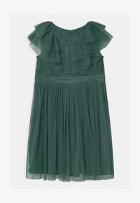 Anaya with love - RUFFLE BIB WITH BOW - Cocktail dress / Party dress - jade green - 0