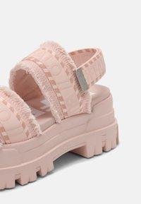Buffalo - VEGAN ASPHA  - Platform sandals - rose - 7