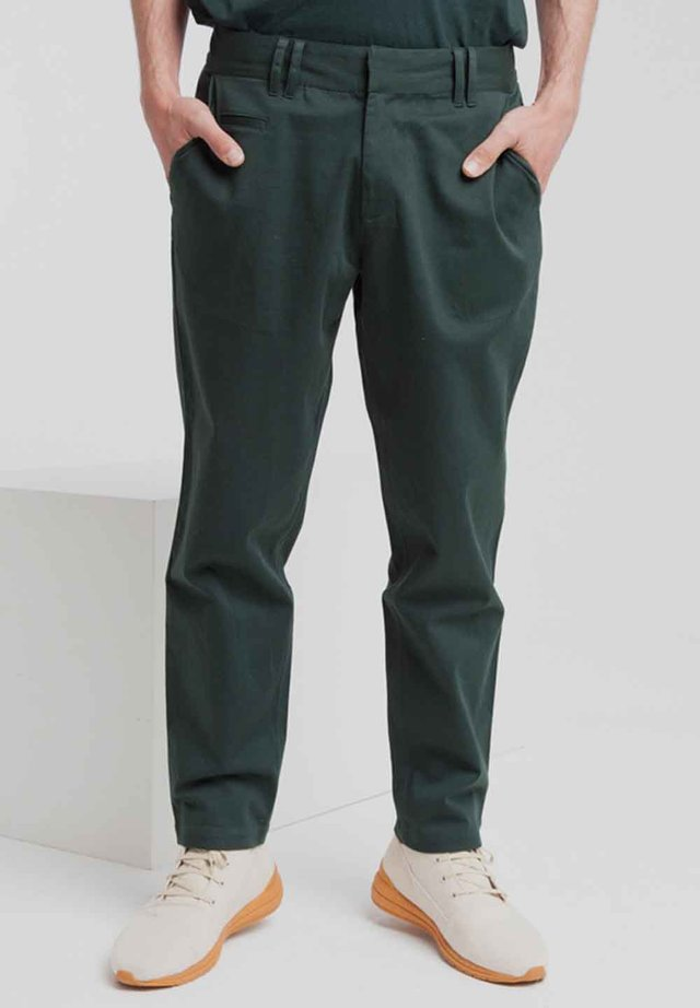 MARCEL - Trousers - scarab green