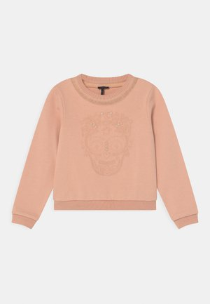 MOLLETON - Sweatshirt - rose poudré