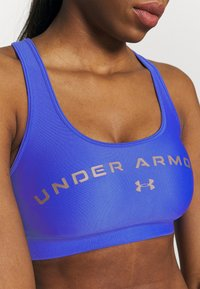 Under Armour - MID CROSSBACK BRA - Sports bra - emotion blue - 3