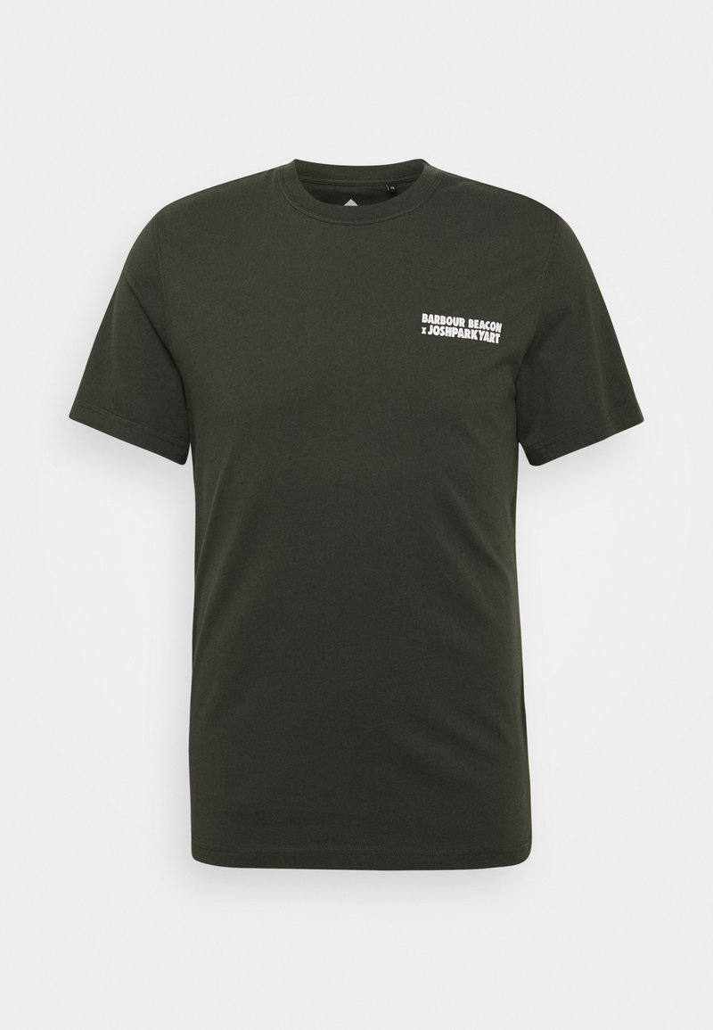 Barbour Beacon - PARKYART TEE - Print T-shirt - forest