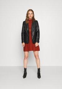 Trendyol - Jumper dress - brick - 1