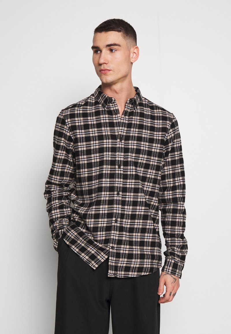 AllSaints - RIDGEWOOD  - Skjorter - black