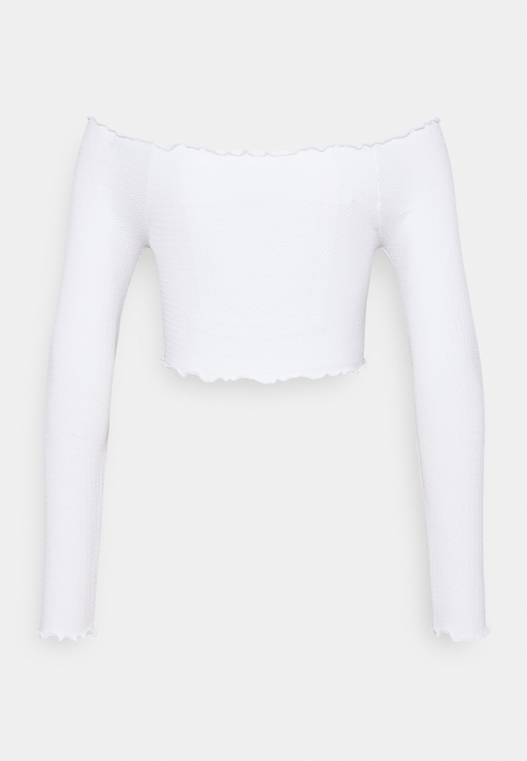 Women SEAM FREE OFF THE SHOULDER LONG SLEEVE - Long sleeved top