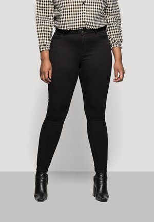 PCHIGHFIVE FLEX - Jeans Skinny Fit - black