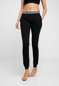 Diesel - UFLB-BABYX TROUSERS - Pyjama bottoms - black - 0
