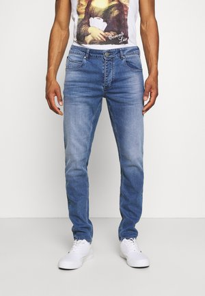 REY - Džíny Straight Fit - blue denim