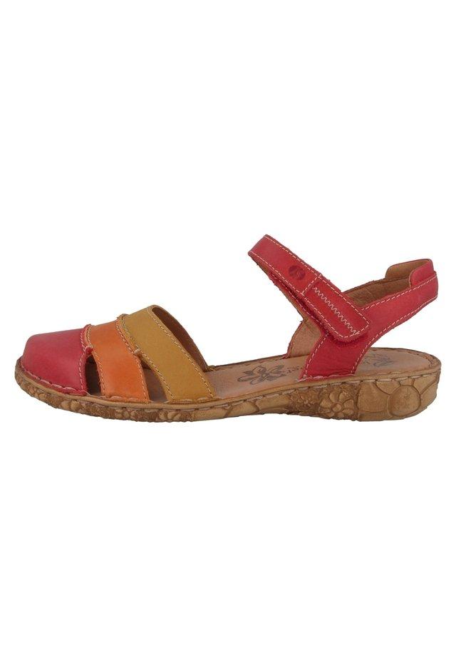 ROSALIE - Sandals - red