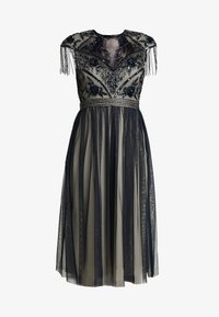 Lace & Beads - SAVANNA MIDI - Cocktail dress / Party dress - navy/cream - 6