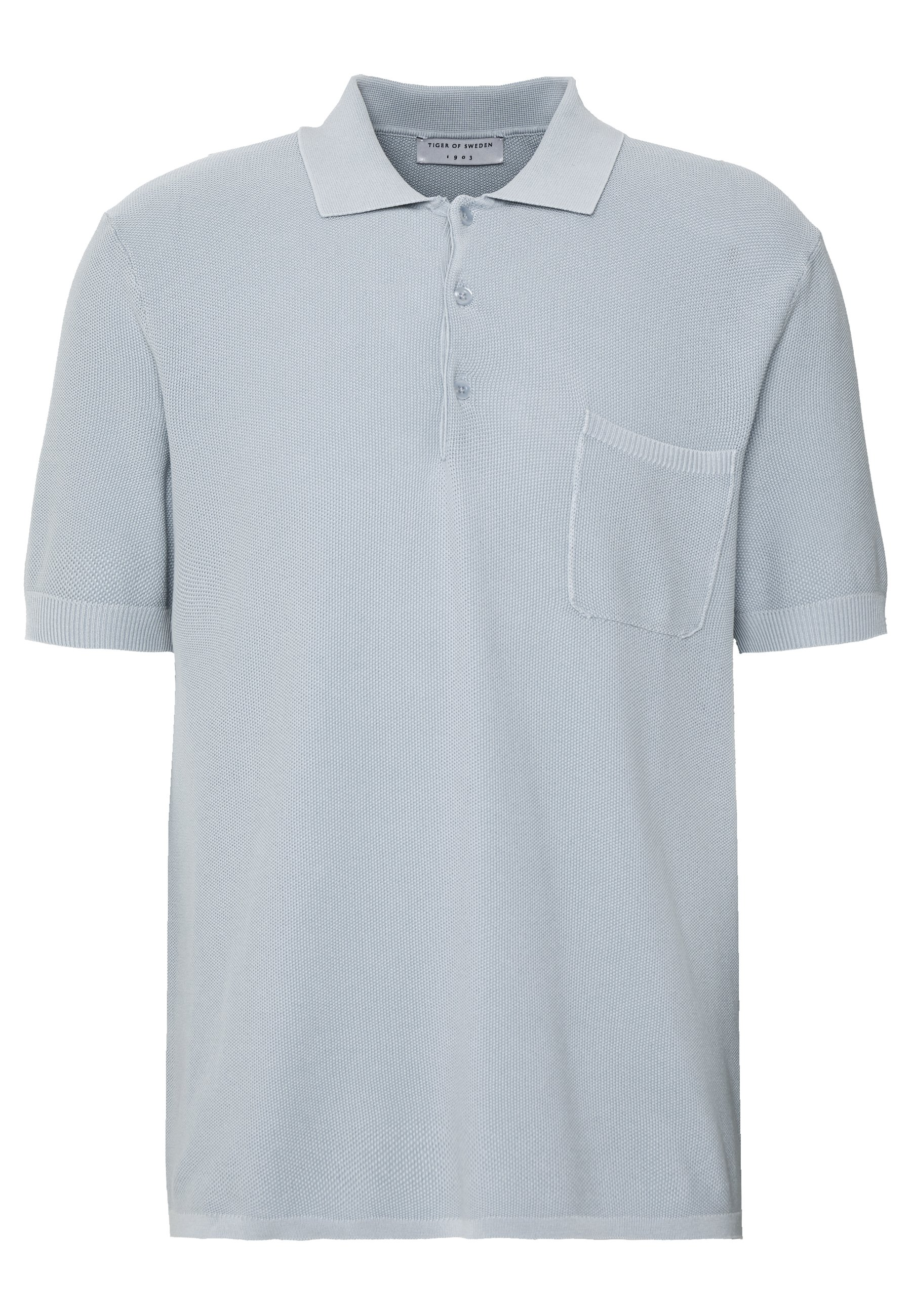 Tiger of Sweden POPLAR - Polo - cloud blue