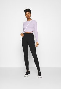 Hollister Co. - ULTRA CROP CUT OUT - Long sleeved top - orchid petal - 1