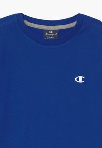 Champion - LEGACY BASICS CREW-NECK UNISEX 2 PACK  - Basic T-shirt - blue/mottled grey - 3