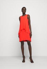 Lauren Ralph Lauren - CLASSIC DRESS - Cocktail dress / Party dress - regal coral - 1