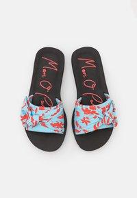 Marc O'Polo - MONIKA  - Mules - turquoise/red - 5