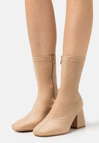 RAID Wide Fit - WIDE FIT ASHLEY - Classic ankle boots - nude - 0