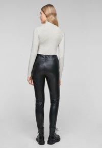s.Oliver - Long sleeved top - cream melange - 2