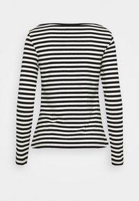 Anna Field - Långärmad tröja - black/white - 7