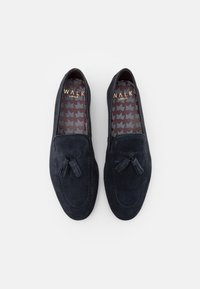 Walk London - TERRY TASSEL LOAFER - Mocassins - blue-grey - 3
