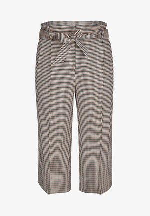 PAPERBAG-CULOTTE - Trousers - grau
