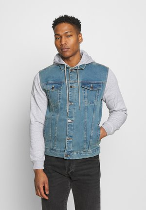 JACKET - Kurtka jeansowa - light blue