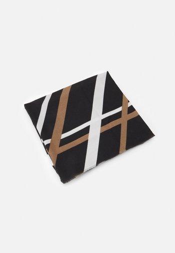 Skjerf - black/beige