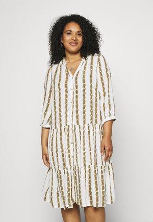 MAMIRA KNEE DRESS - Day dress - white