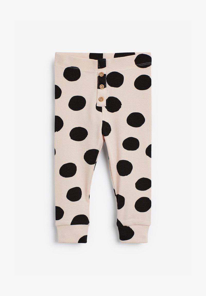 Next - Leggings - Trousers - beige  black