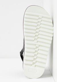 Bogner - ALICANTE  - Korkeakorkoiset sandaalit - black - 6