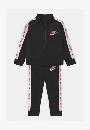 FULL ZIP TRACK SET - Tracksuit - black