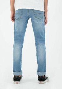 Garcia - TAVIO - Slim fit jeans - stoned blue - 1