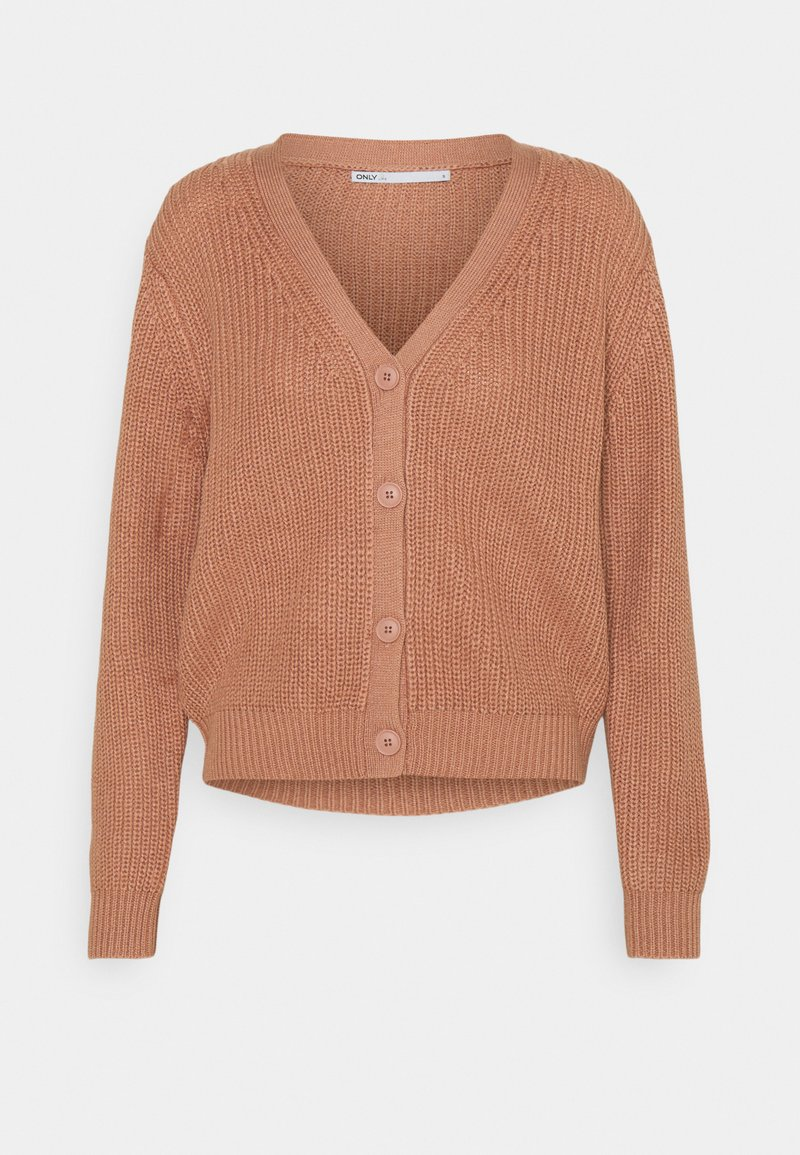 ONLY - ONLSOOKIE MELTON LIFE - Cardigan - dusty rose