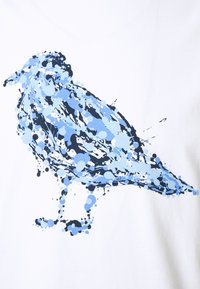 Cleptomanicx - JACK GULLOCK - T-shirt z nadrukiem - white - 2