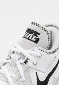 Nike Performance - AIR MAX IMPACT 2 - Basketball shoes - white/black/photon dust - 5