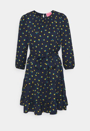 GARDEN DITSY SHIFT DRESS - Day dress - squid