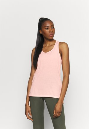 YOGA LAYER TANK - Funktionsshirt - arctic orange/heather/orange pearl