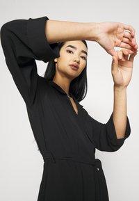 Monki - ANDIE DRESS - Kjole - black dark unique - 4