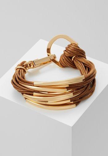 ELLA - Bracelet - gold-coloured/brown