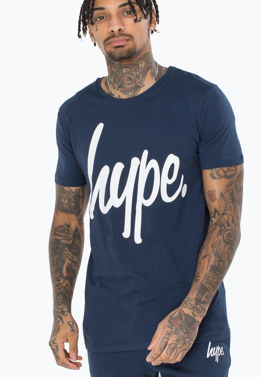 Große Förderung Hype T-Shirt print - navy | Damenbekleidung 2020