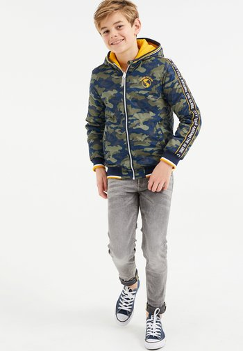 MITCHELL REVERSIBLE - Bomber Jacket - army green