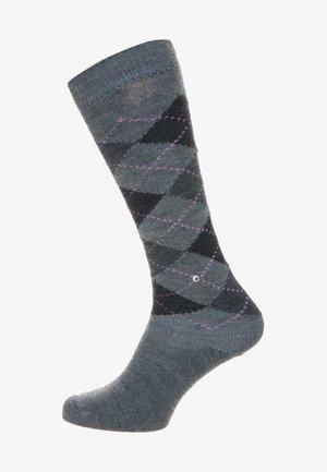 WHITBY - Knee high socks - grey