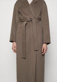 Filippa K - ALEXA COAT - Classic coat - dark taupe - 7