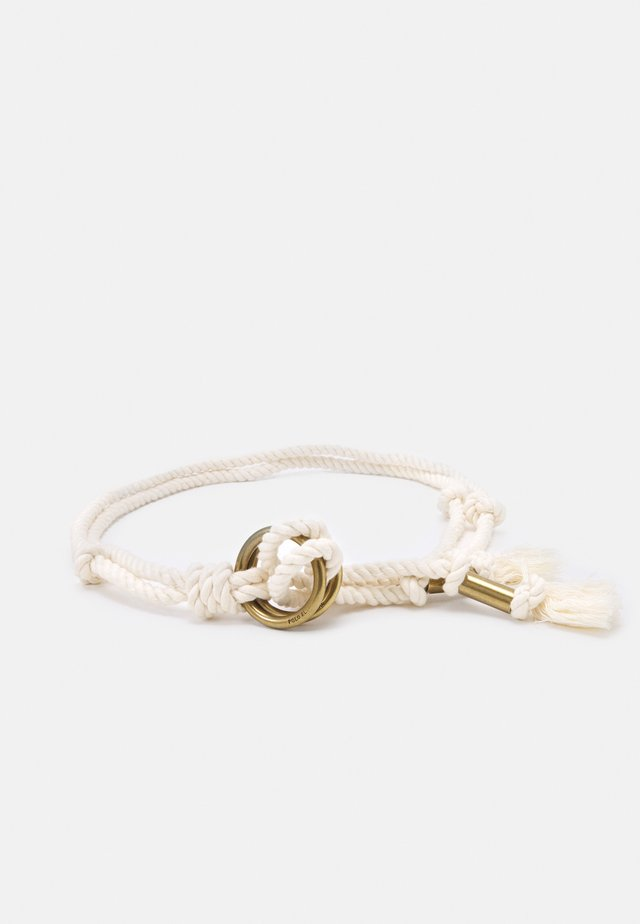 ROPE ORING - Ceinture taille haute - natural