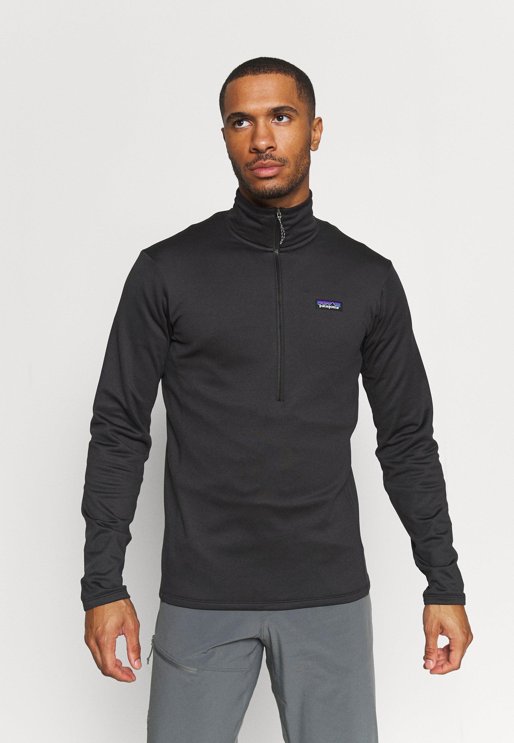Men DAILY ZIP NECK - Fleece jumper